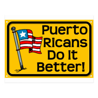 puerto rican do it better postcard