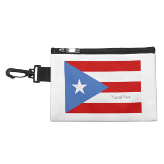 Puerto Rican Flag Accessory Bags