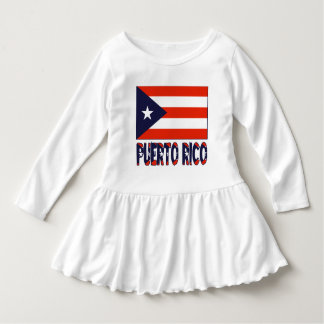 Puerto Rican Flag and Puerto Rico Dress
