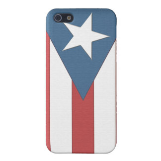 Puerto Rican Flag Case iPhone 5/5S Cover