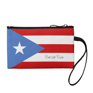 Puerto Rican Flag Coin Wallets
