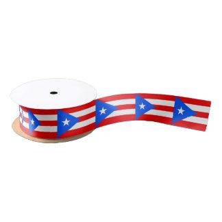 Puerto Rican flag ribbon Satin Ribbon
