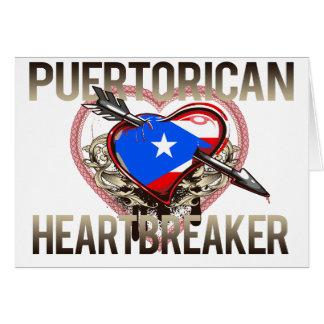 Puerto Rican Heartbreaker Card