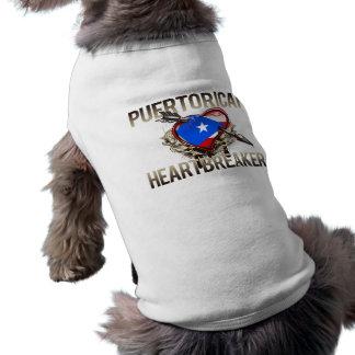 Puerto Rican Heartbreaker Pet Tshirt