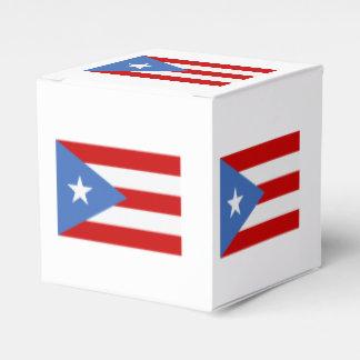 Puerto Rican Patriotic Flag Favor Box