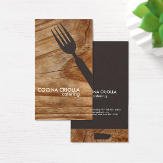 Puerto Rican Restaurant or Catering Business Card