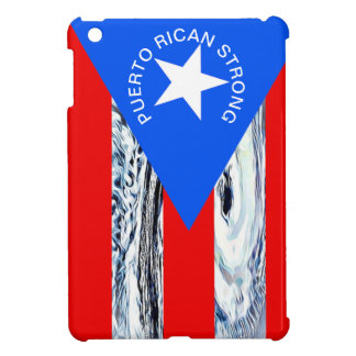 Puerto Rican Strong Flag Hurricane Cell Phone Case Case For The iPad Mini