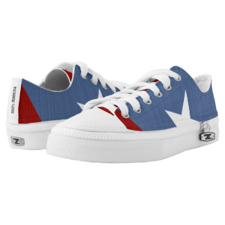 Puerto Rico 100 Boricua Pride Low-Top Sneakers