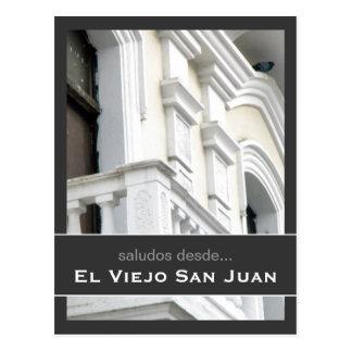 Puerto Rico Arquitectura Española Postcard