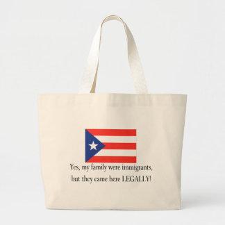 Puerto Rico Canvas Bags