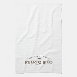 Puerto Rico, Bar or Kitchen Towel