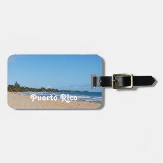 Puerto Rico Beach Luggage Tag