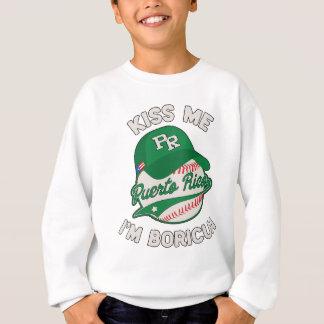 Puerto Rico Boricua St Patrick's Day Sweatshirt