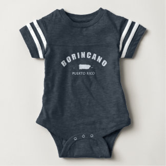 Puerto Rico: Borincano Baby Bodysuit