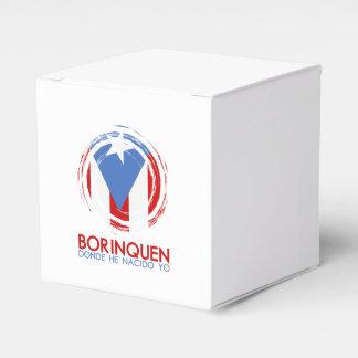 Puerto Rico Borinquen Party Favor Box