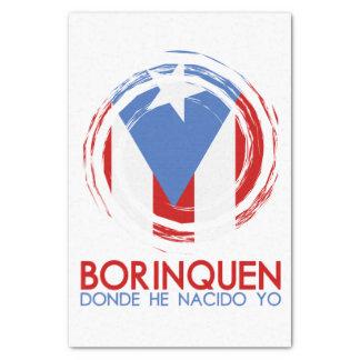 Puerto Rico Borinquen Tissue Paper
