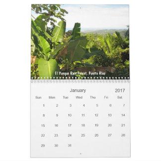 Puerto Rico - by Galina - Calendar