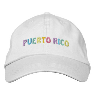 PUERTO RICO cap Embroidered Hat