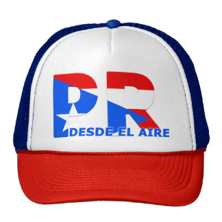 Puerto Rico cap From the Air Trucker Hat