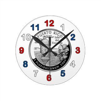 Puerto Rico Clock