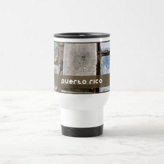 Puerto Rico Cobblestone: Adoquines Travel Mug