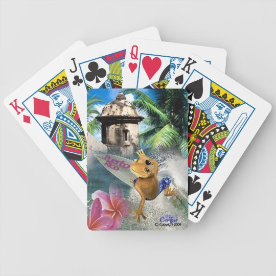 Puerto Rico Coqui deck playing cards