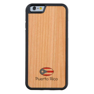 Puerto Rico Custom Cherry iPhone 6 Bumper