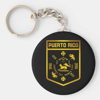 Puerto Rico Emblem Keychain