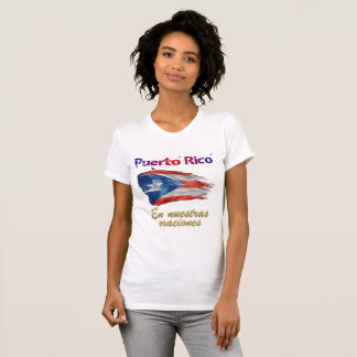 Puerto Rico - En nuestras oracio (In our Prayers) T-Shirt