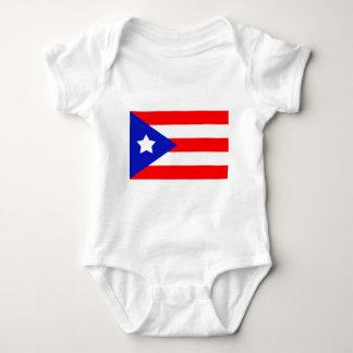 Puerto Rico Flag Baby Bodysuit