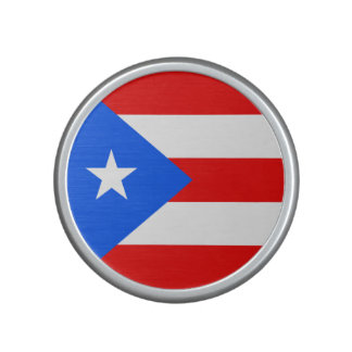 Puerto Rico Flag Bluetooth Speaker
