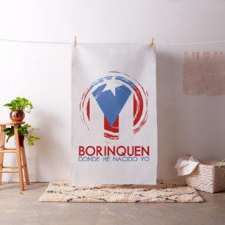 Puerto Rico Flag: Borinquen Fabric