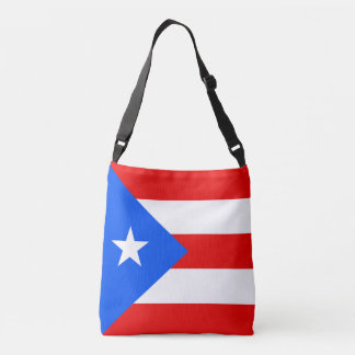 Puerto Rico Flag Crossbody Bag