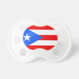 Puerto Rico flag custom baby pacifier