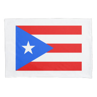 Puerto Rico flag custom flag pillowcase