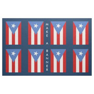 Puerto Rico Flag: Decoration Fabric