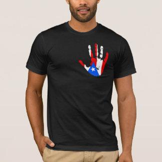 Puerto Rico Flag Handprint T-Shirt