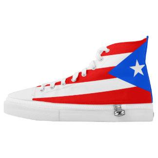 Puerto Rico Flag High Tops