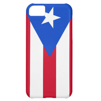 Puerto Rico Flag iPhone 5C Cases