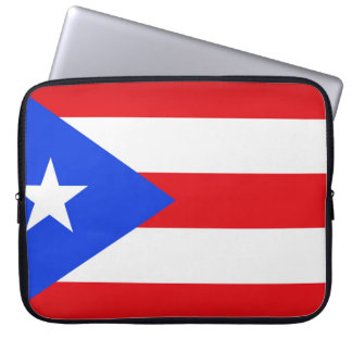 Puerto Rico Flag Laptop Sleeve