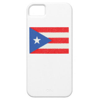 Puerto Rico Flag Oil Painting iPhone 5 Cover