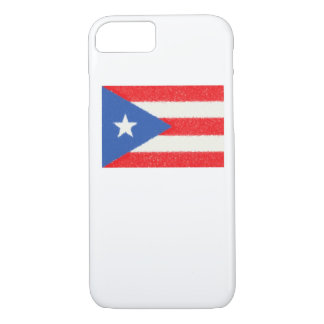 Puerto Rico Flag Oil Painting iPhone 7 Case