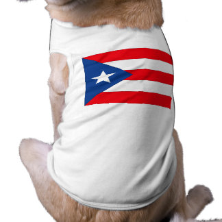 Puerto Rico Flag Pet Shirt