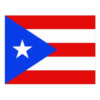 Puerto Rico Flag Postcard