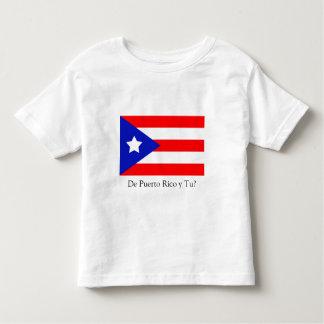 Puerto Rico Flag Toddler T-shirt