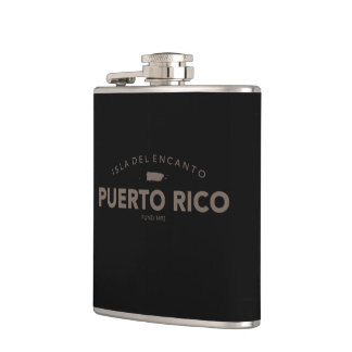 Puerto Rico Flasks
