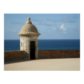 Puerto Rico Framed Photo Poster
