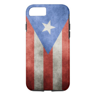 Puerto Rico Grunge Flag iPhone 8/7 Case