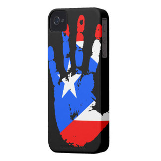 Puerto Rico Handprint iPhone 4 ID Case-Mate