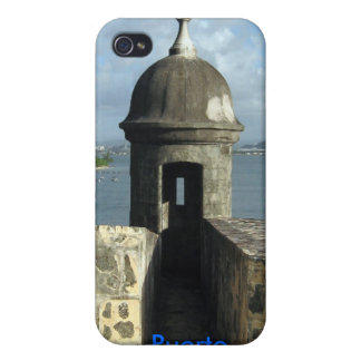 Puerto Rico Hard Shell Case for iPhone 4